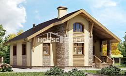 080-002-R One Story House Plans, inexpensive Plans To Build,