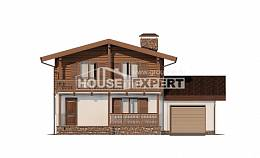 200-011-R Two Story House Plans with mansard roof, beautiful House Online, House Expert