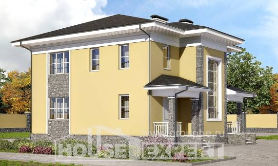 155-011-L Two Story House Plans, the budget Design House, House Expert