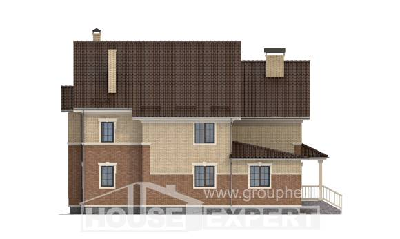 300-004-L Two Story House Plans, classic Online Floor,