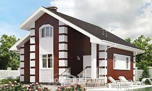 115-001-R Two Story House Plans and mansard, available Dream Plan