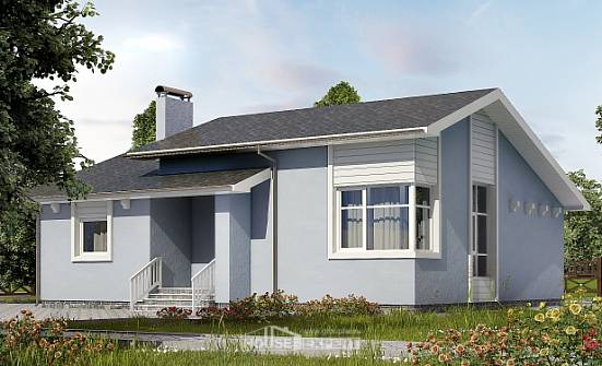 110-003-L One Story House Plans, beautiful Architects House,